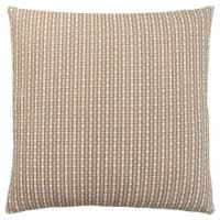 Pillow - 18 X 18  / Light / Dark Taupe Abstract Dot / 1Pc - 1