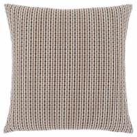 Pillow - 18 X 18  / Light / Dark Brown Abstract Dot / 1Pc - 1