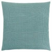 Pillow - 18 X 18  / Patterned Light Green / 1Pc - 1