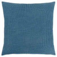 Pillow - 18 X 18  / Patterned Blue / 1Pc - 1
