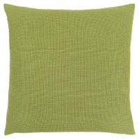 Pillow - 18 X 18  / Patterned Lime Green / 1Pc - 1
