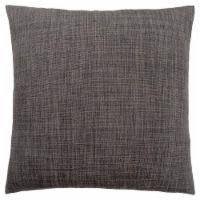 Pillow - 18 X 18  / Linen Patterned Dark Grey / 1Pc - 1