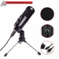 Vivitar Cardioid Condenser Recording Usb Microphone Great For Podcasting With Mic Stand - 1