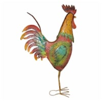 Backyard Expressions Metal Rooster Decorative Garden Statue - 1 Each