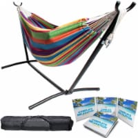 Backyard Expressions Double Camping Hammock with Stand - 1 Each