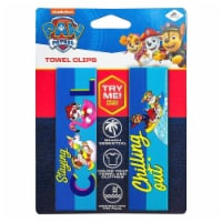 Paw Patrol Beach Towel Clips Chilling Out Cool Nickelodeon Pool Secure Bag Chair LogoPeg - 1 unit