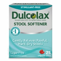 Dulcolax Stool Softener with HydroSoft Action Liquid Gels