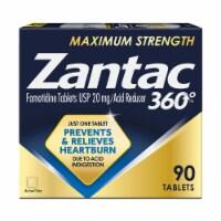 Zantac Maximum Strength Acid Reducer Tablets - 90 ct