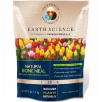 Earth Science 7010955 4 lbs Growth Essentials Organic Bone Meal, Pack of 6
