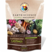 Earth Science 7010956 4 lbs Growth Essentials Organic Earthworm Castings, Pack of 6