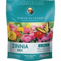 Earth Science All-In-One 2 Lb. 200 Sq. Ft. Coverage Zinnia Wildflower Seed Mix - 2 Lb.