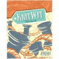 Knit Wit Board Game Loops Spools Face-Paced Humorous Crafty Intellect Z-Man Games - 1 unit