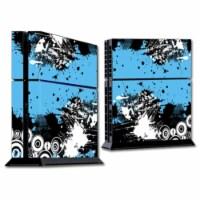 MightySkins SOPS4-Hip Splatter Skin for Sony Playstation 4 PS4 Console Wrap Sticker - Hip Spl