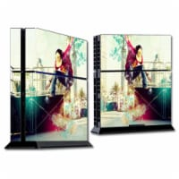 MightySkins SOPS4-Skater Skin for Sony Playstation 4 PS4 Console Wrap Sticker - Skater - 1