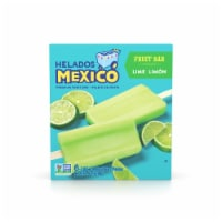 Helados Mexico Limon Fruit Bars - 6 ct / 3 fl oz