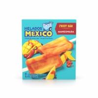 Helados Mexico Mangonada Premium Fruit Bars 6 Count