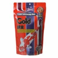 Hikari 2342 17 oz Gold Color Enhancing Koi Food, Medium Pellet