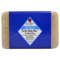 Jack Black Turbo Body Bar Scrubbing Soap 6 oz