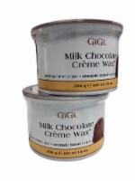 GiGi Milk Chocolate Cream Wax 14 OZ Pack of 2 - 1