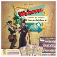 Deep Water Games DWAWTXHWN Welcome To - Halloween Expansion Card Game - 1