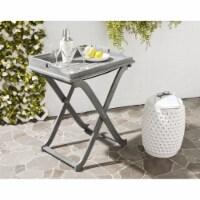 Covina Tray Table Ash Grey - 1 unit