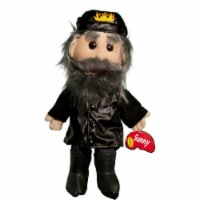 Sunny Toys GL3813 14 In. Biker In Leather Jeans, Glove Puppet - 1