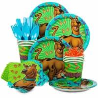 Costume Supercenter 611512 Scooby Doo Standard Tableware Kit - Serves 8 - 1