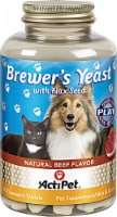 ActiPet Brewer's Yeast Natural Beef Flavor Pet Supplement Chewable Tablets
