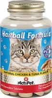 ActiPet Hairball Formula Natural Chicken & Tuna Flavor Pet Supplement Chewable Tablets