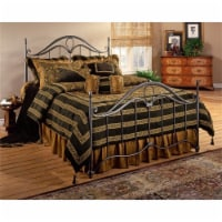 Hawthorne Collections Queen Metal Spindle Bed in Bronze - 1