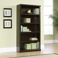 Scranton & Co 5 Shelf Bookcase in Jamocha Wood - 1
