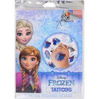 Savvi Disney Frozen Girls Tattoos - 50 pc