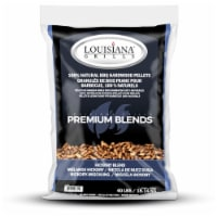 Lousican Grill All Natural Hickory Wood Pellets 40 lb. - Case Of: 1; - Count of: 1