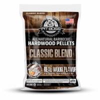 Pit Boss 55245 20 Pound Classic Blend Pecan, Hickory & Mesquite Hardwood Pellets - 1 Piece