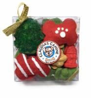 Claudia's Canine Bakery Gourmet Christmas Dog Treat Gift Box (Max's Holiday Munch) - 1