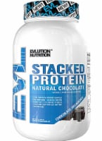 Evlution Nutrition  Stacked Protein Powder Drink Mix Natural Flavors   Chocolate Decadense