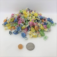 Assorted Fruit Chips Chipurnoi Italian Cough Drops Puntini 1 pound - 1 pound