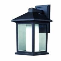 Z-Lite Mesa Outdoor Wall Light in Black - 1