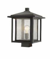 1 Light Outdoor Post Mount Fixture - 554PHBS-ORB