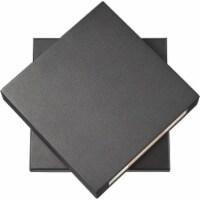 Z-Lite Quadrate 11  Sand Blast Glass Aluminum Outdoor LED Wall Sconce in Black - 1