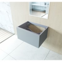 Vitri 30 - Fossil Grey Cabinet