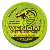 Gasoila Venom 1500 in. L x 1/2 in. W Thread Seal Tape - Case Of: 1; - Count of: 1