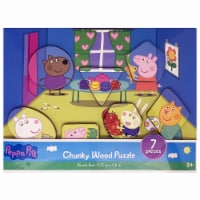 Peppa Pig Chuck Wood Puzzle (Assorted Styles)