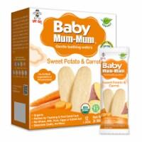 Baby Mum-Mum Organic Sweet Potato & Carrot Rice Rusks - 6 Boxes - 6
