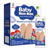 Baby Mum-Mum Organic Blueberry & Goji Rice Rusks - 6 Boxes - 6
