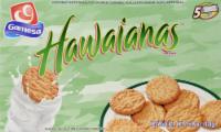 Gamesa Cookies Hawaianas Coconut Flavored Snacks