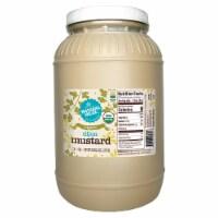 128-oz. Natural Value Food Service Organic DIJON Mustard / 4-ct. case - 4