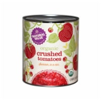 106-oz. Natural Value Food Service Size Organic CRUSHED Tomatoes / 2-pack