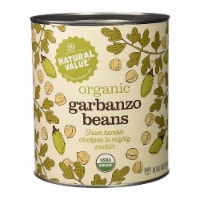 108-oz. Natural Value Food Service Size GARBANZO BEANS / 2-pack