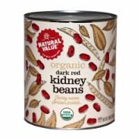 108-oz. Natural Value Food Service Size DARK RED KIDNEY BEANS / 6-ct. case - 6 ct.